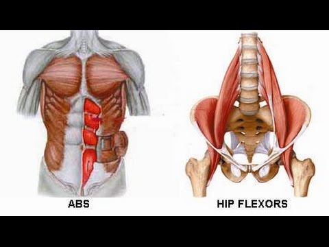 Lower Back And Hips Always Hurting When Training Abs??? MUST WATCH