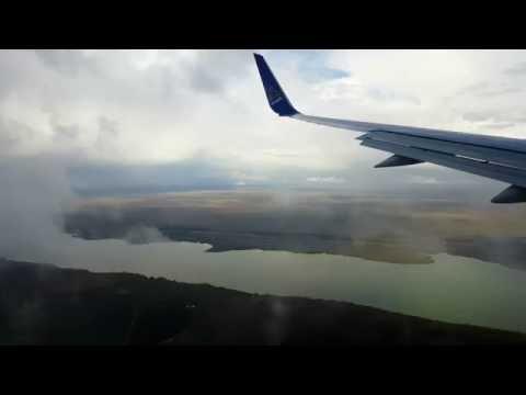 Landing in Aktobe, Kazakhstan / Air Astana / [4K]