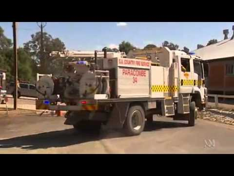 Video 2:37          Adelaide hills fire mostly contained