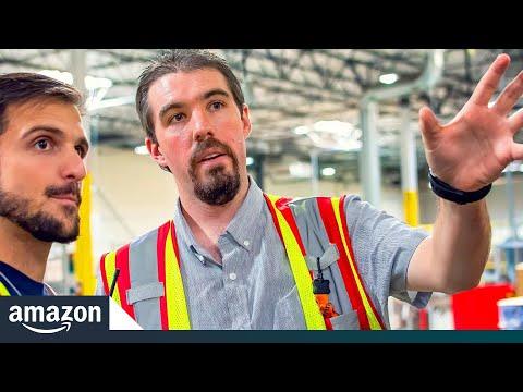 Warehouse Tour Leads To Amazon Career