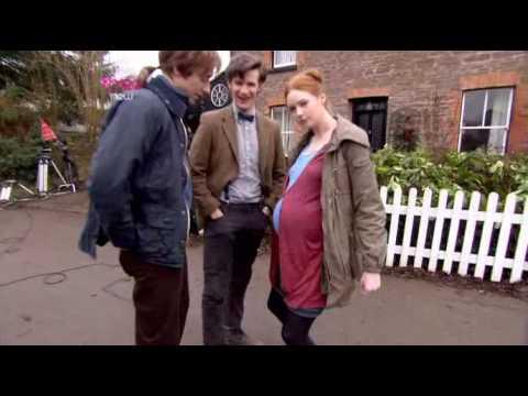 Doctor Who -Karen Gillan Does The Belly Dance