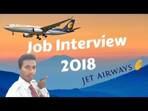 Jet Airways Cabin Crew/Air hostess Jobs & Requirements 2018 Interview Final Date