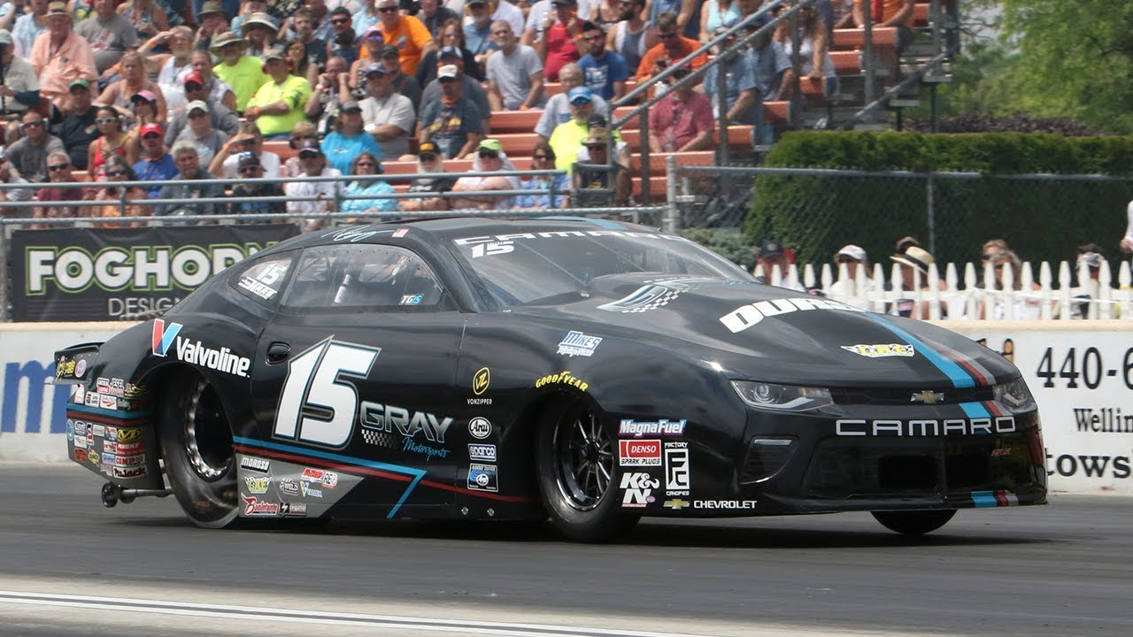 Tanner Gray becomes the first Pro Stock driver with three wins on the season