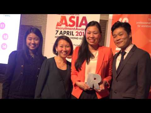 Asia Recruitment Awards 2016 Hong Kong Gala Dinner