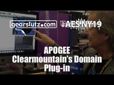 Apogee Clearmountain's Domain plugin - Gearslutz @ AES 2019