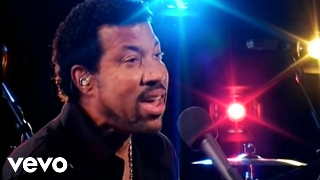 Lionel Richie Hello Live Youtube