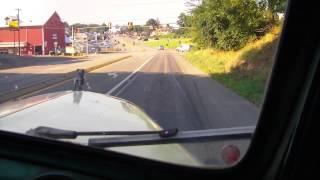 1960 mack b61 wrecker finally driving