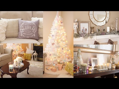 Christmas Decorations ❄ Living Room Tour 2014 | Charmaine Dulak ...