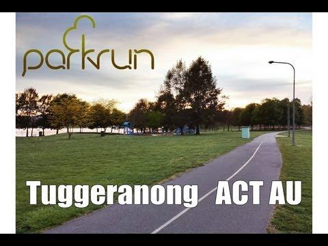 Tuggeranong Parkrun Course - ACT AU