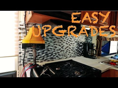 North Pole, Roof Repair, & Custom Cheap RV Backsplash