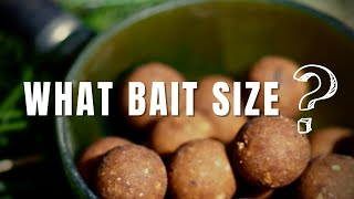 Carp fishing: What sİze boilie to use for carp fishing (+ what hook size)