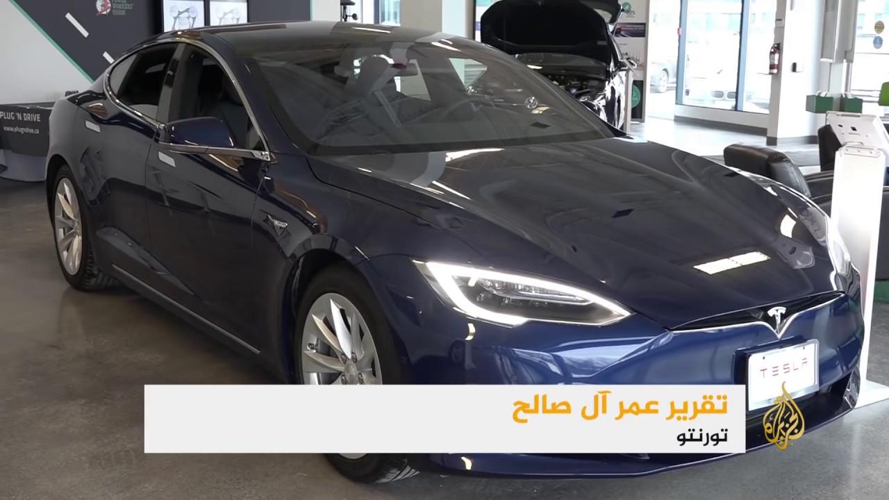 الجزيرة:جهود حكومية لترويج السيارات الكهربائية بكندا