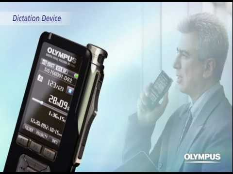 Olympus Dictation System Work Flow