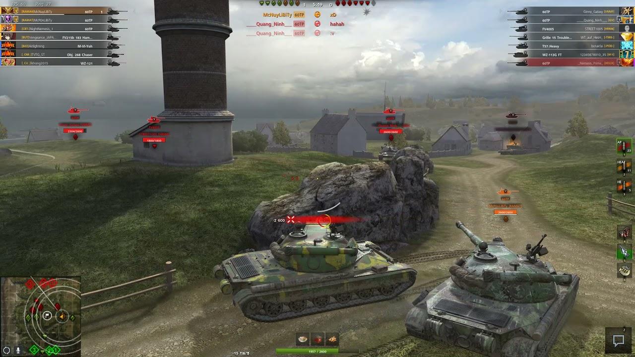 Download World of Tanks Blitz Thailand : Mastery TP60 5559Dmg 2kills  (เจอแต่เข้ม)