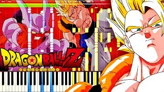 Dragon Ball Z Ost Gogeta 39 s Theme Piano Tutorial.mp3