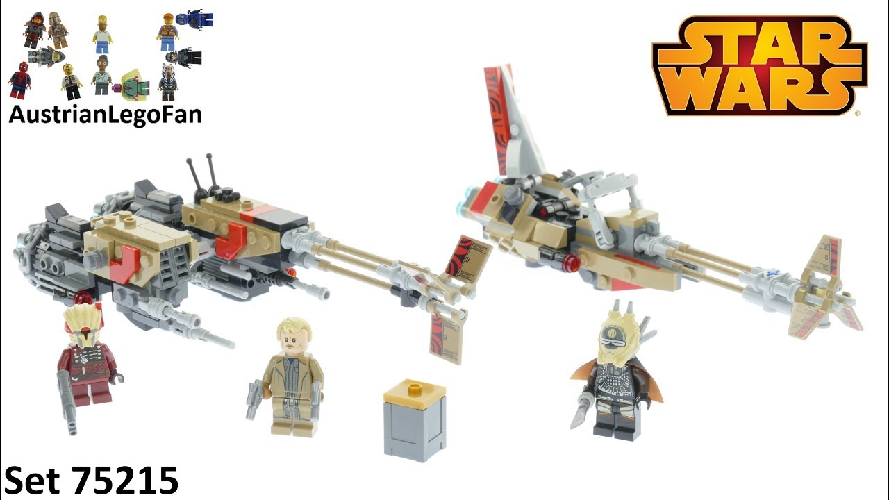 LEGO 75215 Cloud-Rider Swoop Bikes Star Wars