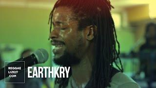 ReggaelizinJA: EarthKry - 9 to 5 (Rehearsal at Penthouse Studio)