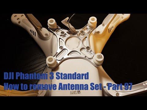 How to - DJI Phantom 3 Standard Antenna Set Part 97