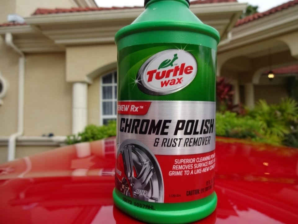 turtle wax chrome polish review and test results on my. Black Bedroom Furniture Sets. Home Design Ideas