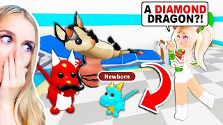Our DRAGONS Had A BABY In Adopt Me! (Roblox)