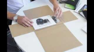 Repeat youtube video VideoPak - Mailer carton assembly demonstration.