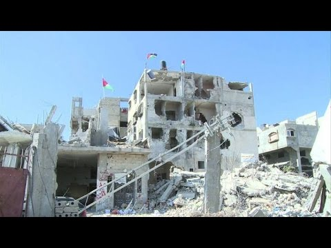 War-ravaged districts of Gaza face somber Eid holiday