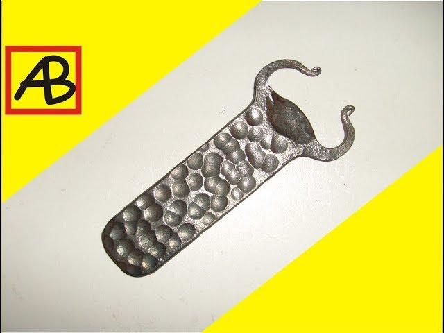 Открывалка для бутылок и художественная ковка металла