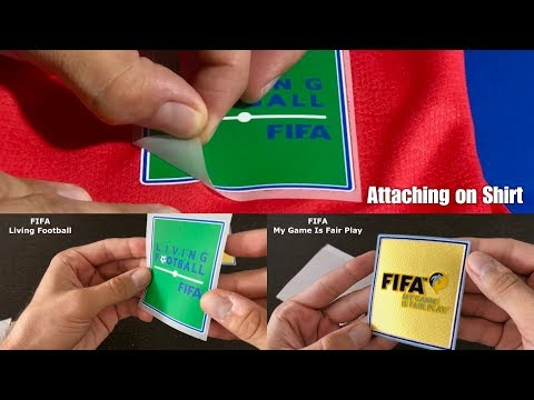 Fifa Football Patches (Attaching On Shirt)