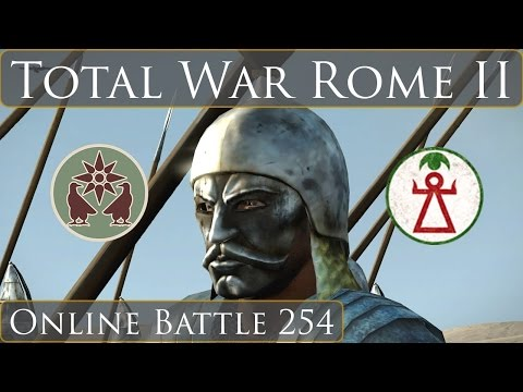 Total War Rome 2 Online Battle Video 254 Armenia Vs Carthage