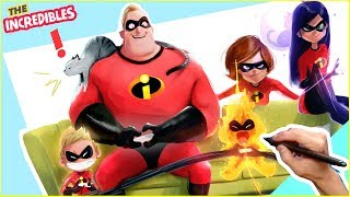 TURNING MY FAMILY INTO THE INCREDIBLES!