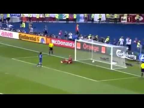 Gol de Pirlo de Penalti alo Panenka [Eurocopa 2012]