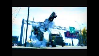 GTA 4 - Трюки, Аварии и Приколы! [#49]