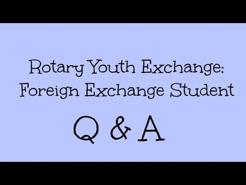Advice For Exchange Students- Foreign Exchange Q & A