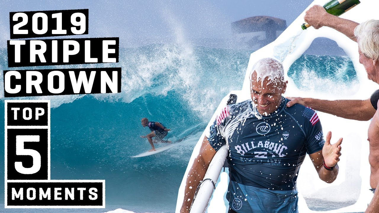2019 Vans Triple Crown of Surfing - TOP 5 momentos ft. Kelly Slater, Jack Robinson, Michel Bourez