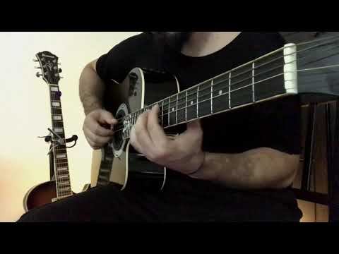 acoustic guitar alternate tuning song idea