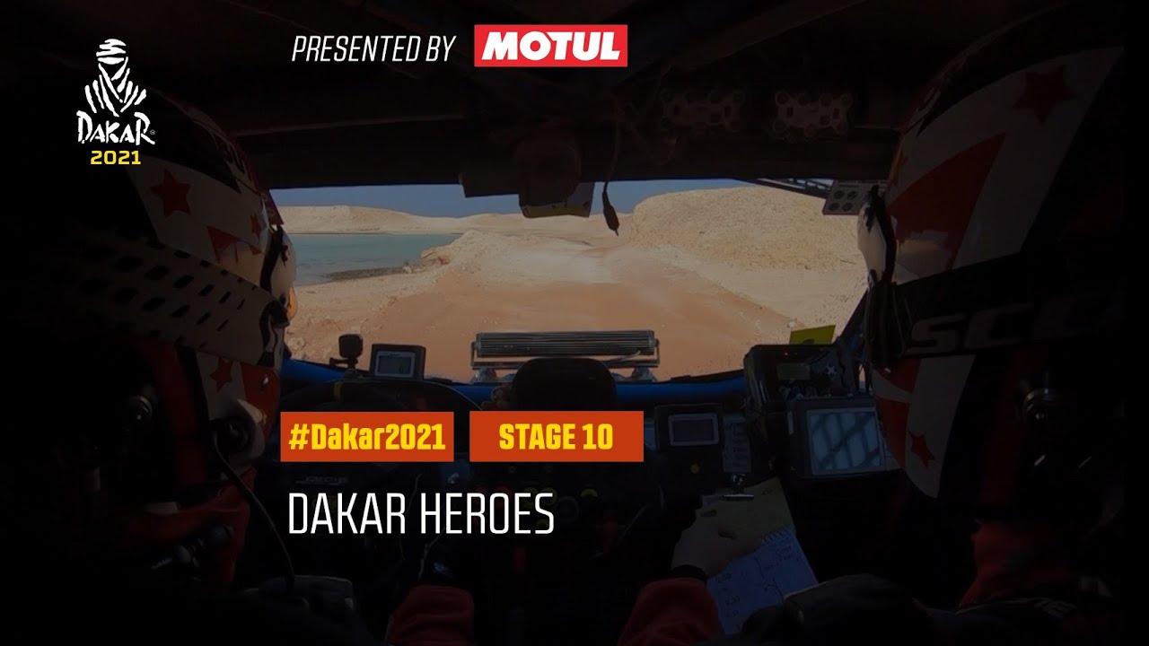 #DAKAR2021 - Stage 10 - Dakar Heroes