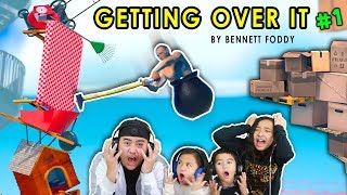 SEE THE HAMMER, BE THE HAMMER!!! | GETTING OVER IT #1 Gameplay | Speedrun