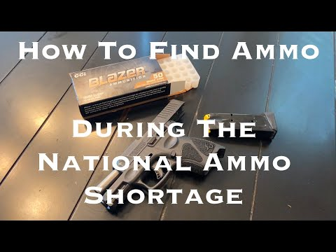 How To Find Ammo During The Ammo Shortage