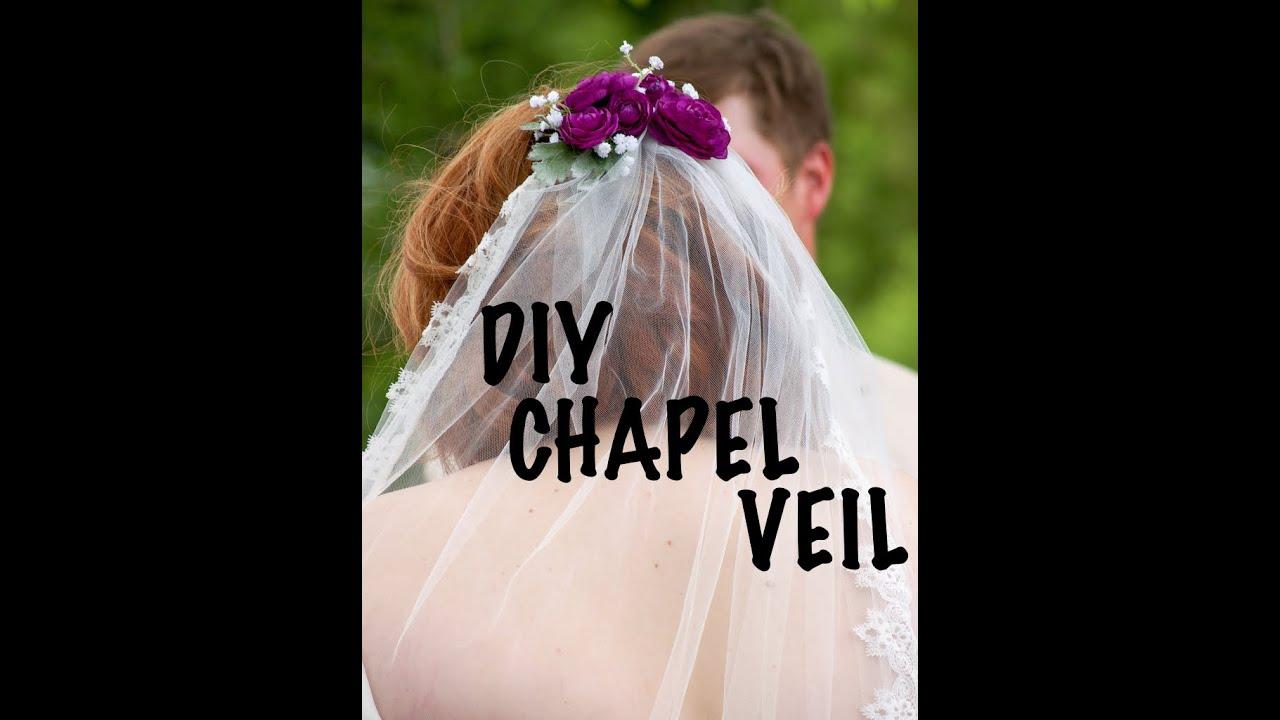 Diy wedding veil chapel length diy by fran youtube diy wedding veil chapel length diy by fran solutioingenieria Images