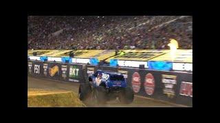 Monster Energy vs VP Racing Fuels Mad Scientist Monster Jam World Finals Racing Round 2 2016
