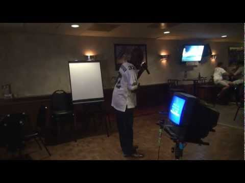 Tyree sings Mr.Too Damn Good