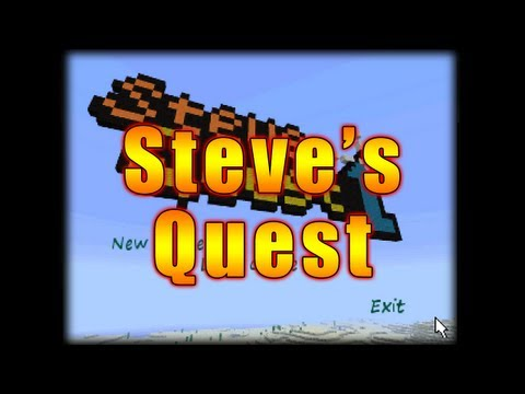Steve's Quest Five minute Minecraft point-and-click adventure