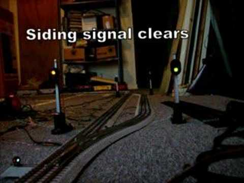 Model train signal test YouTube – Lionel Fastrack Wiring Signals