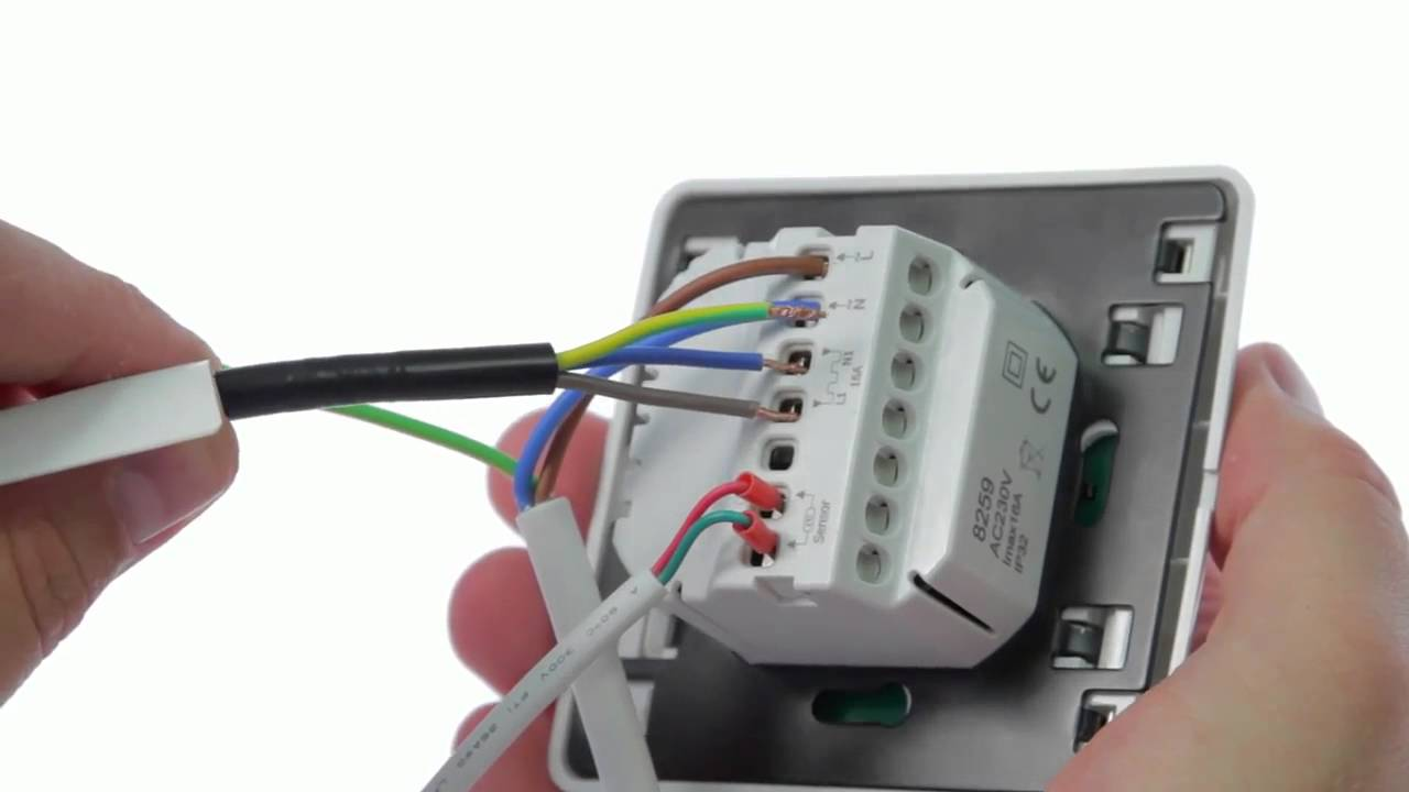 devi underfloor heating wiring diagram [ 1280 x 720 Pixel ]