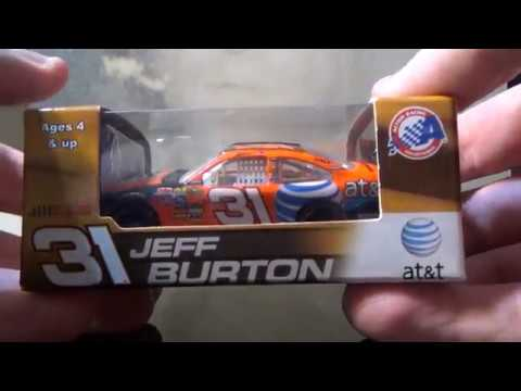 Jeff Burton 2008 AT&T Chevy NASCAR Diecast Review