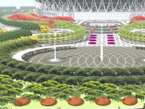Philippine arena latest video mach 11 youtube for Filipino landscape architects
