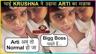 Krushna Abhishek Makes FUN Of Sister Arti Singh After Bigg Boss 13