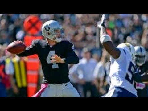 DEREK CARR IS BACK | CARR WILL START AGAINST CHARGERS | ROAD TO THE SUPERBOWL