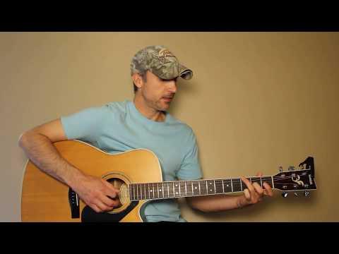 The Blues Man  Alan Jackson  Guitar Lesson  Tutorial