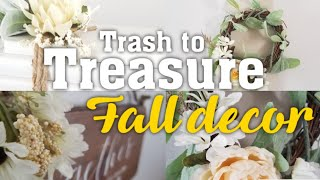 Trash to Treasure: Fall decorations